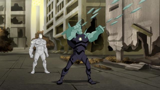 Diamondhead's Powers 15