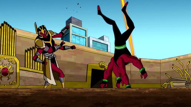 Four Arms Powers 17