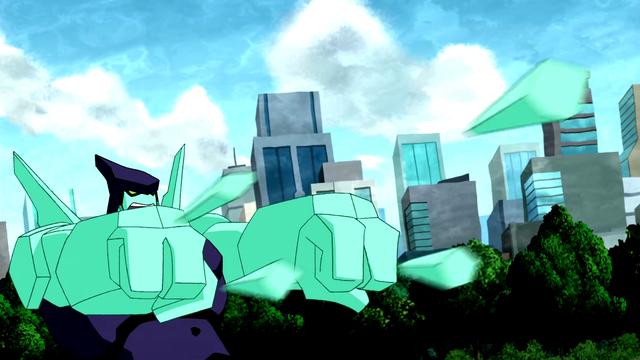 Diamondhead's Powers 17