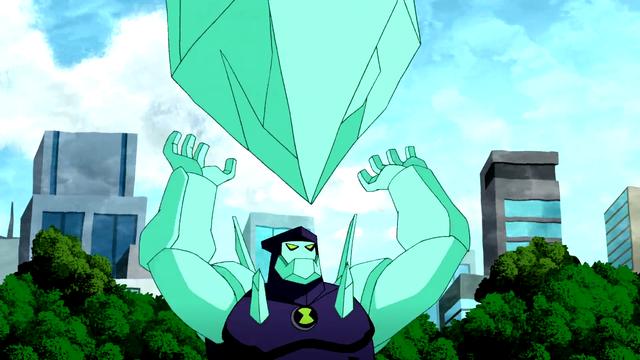 Diamondhead's Powers 62