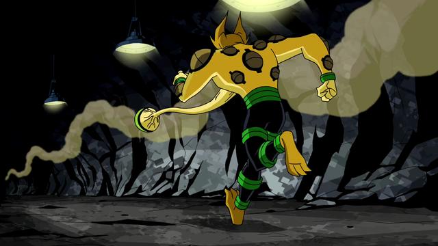 Eye Guy's powers (also weakness 1) 22