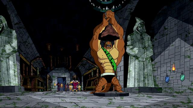 Humungousaur's Powers 14