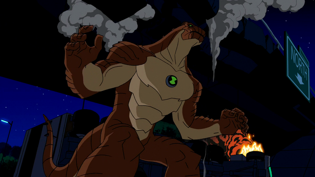 Humungousaur's Powers 40