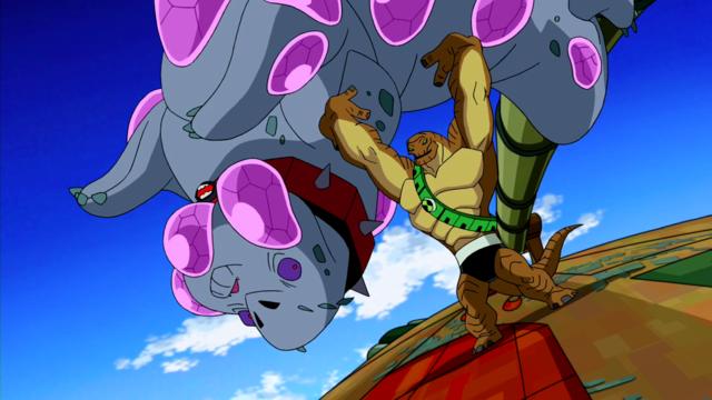 Humungousaur's Powers 10
