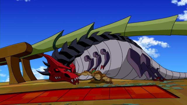 Humungousaur's weaknesses 2