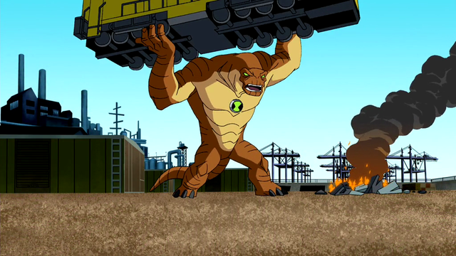 Humungousaur's Powers 3