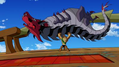 Humungousaur's weaknesses 1