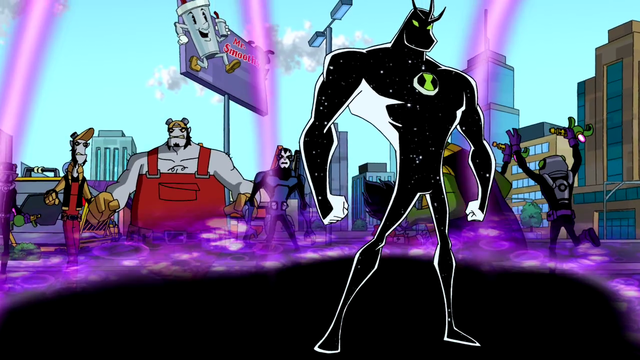 Alien X's Powers 10