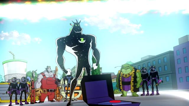 Alien X's Powers 43