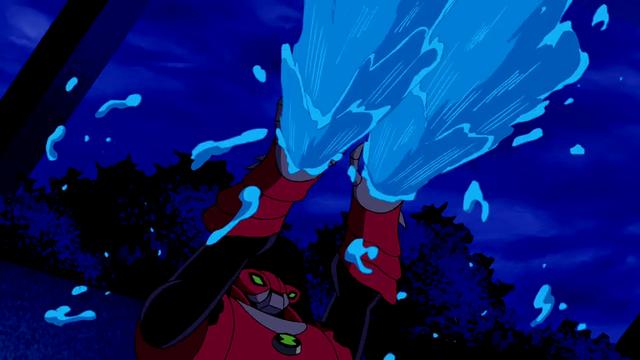 Water Hazard's powers 8