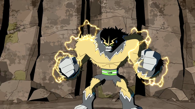 Shocksquatch's powers 17