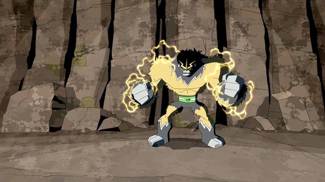 Shocksquatch's powers 18