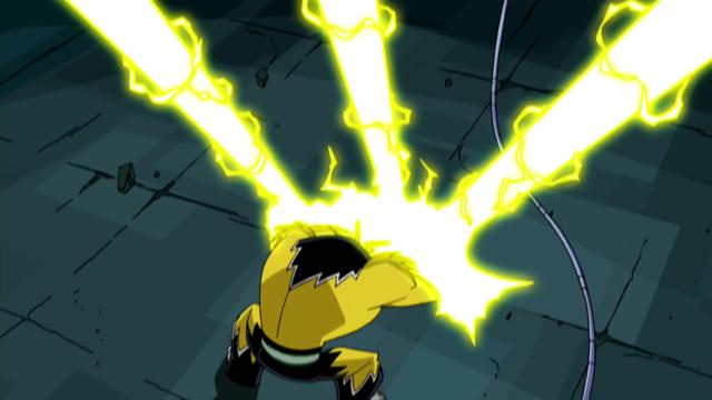 Shocksquatch's powers 10