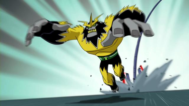 Shocksquatch's powers 41