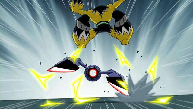 Shocksquatch's powers 36