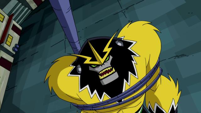 Shocksquatch's powers 11