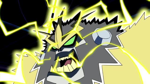 Shocksquatch's powers 16