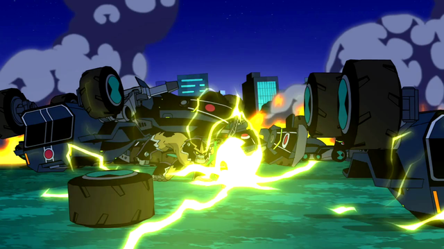 Shocksquatch's powers 32