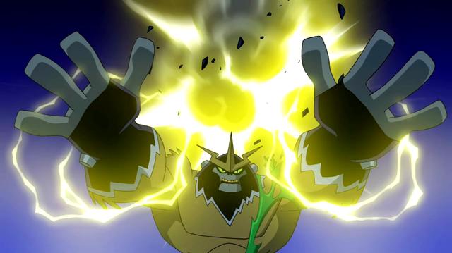 Shocksquatch's powers 34