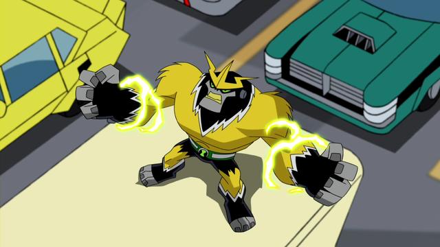 Shocksquatch's powers 22