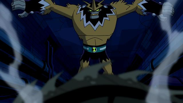 Shocksquatch's powers 8