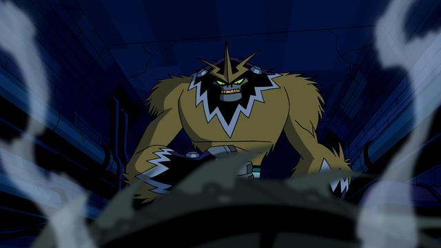 Shocksquatch's powers 9