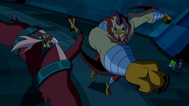 Kickin Hawk's Powers 12
